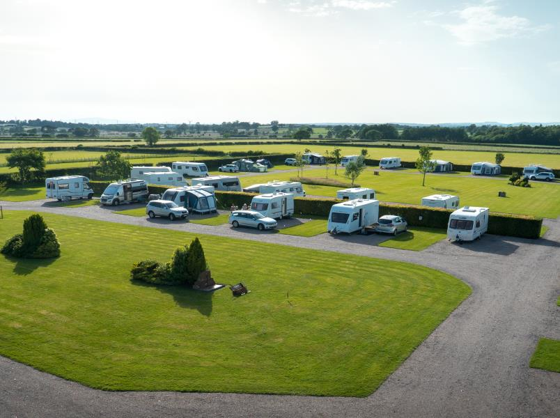 Adults only caravan park in Cumbria - Green Acres