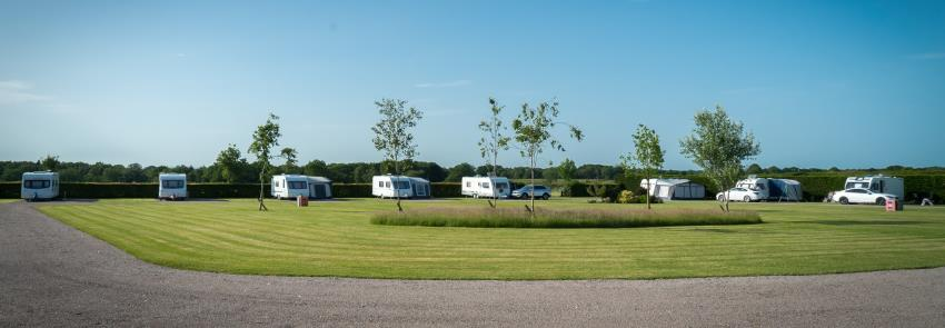 Seasonal Caravan Pitches and Caravan Storage at Green Acres in Carlisle, Cumbria